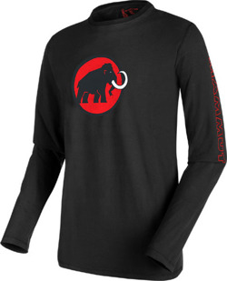 Bluza Mammut Snow Longsleeve Men black