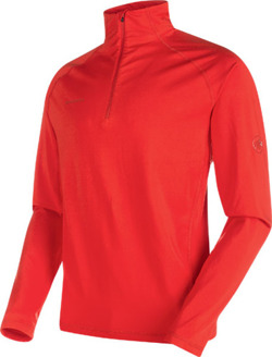 Bluza Mammut Snow  ML Half Zip Pull Men spicy