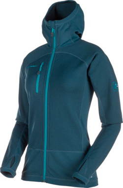 Bluza polarowa Mammut Aconcagua Pro ML Hooded Women orion