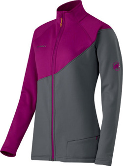 Bluza polarowa Mammut Barbeau women smoke-mallow