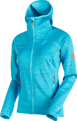 Bluza polarowa Mammut Eiswand Guide ML Hooded Women arctic