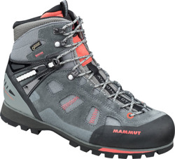 Buty Mammut Ayako High GTX Women grey-dark barberry
