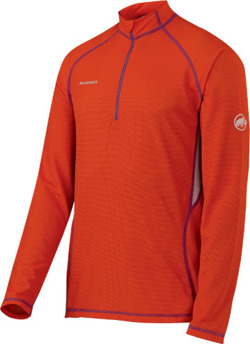 Koszulka Mammut Active Longsleeve Men dark-orange