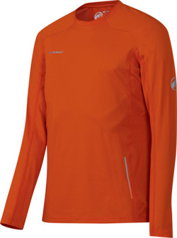 Koszulka Mammut MTR 141Longsleeve Men dark orange