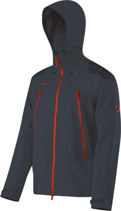 Kurtka Mammut Albaron Men black-inferno