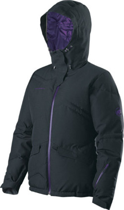 Kurtka Mammut Arosa Women black night shade