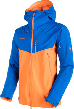 Kurtka Mammut Eiger Extreme Nordwand Pro HS Hooded Men sunrise-ice