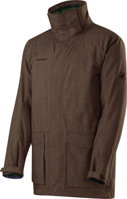 Kurtka Mammut Ruler Parka men dark oak-verdant