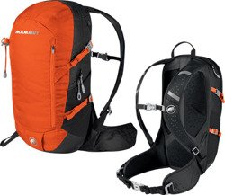 Plecak Mammut Lithium Speed  15L graphite-dark orange