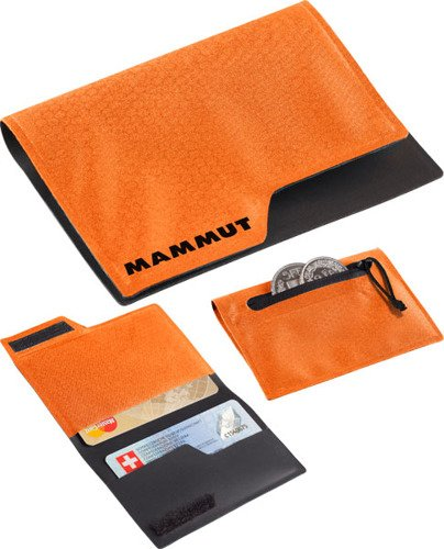 014c8c3edcff4 Portfel Mammut Smart Ultralight dark orange dark orange