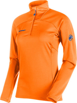 Bluza Mammut  Moench Advanced ML Half Zip Longsleeve Woen sunrise