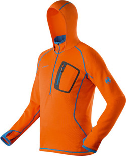 Bluza polarowa Mammut Eiger Extreme Eiswand Pull Men orange