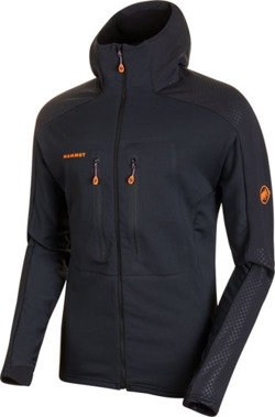 Bluza polarowa Mammut  Eiswand Advanced ML Hooded Men black