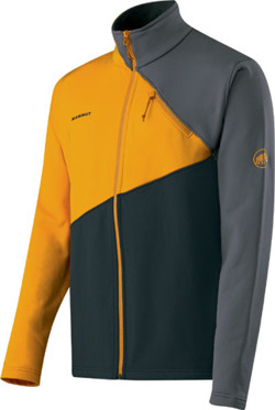 Bluza polarowa Mammut Redoubt Men graphite-yolk