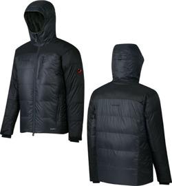 Kurtka Mammut Ambler Hooded Men graphite-black