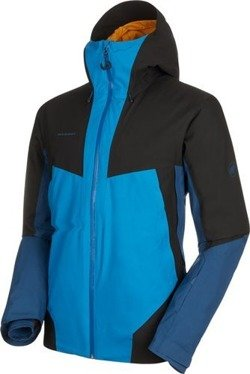 Kurtka Mammut Casanna HS Thermo Hooded Men sapphire-wing teal-black