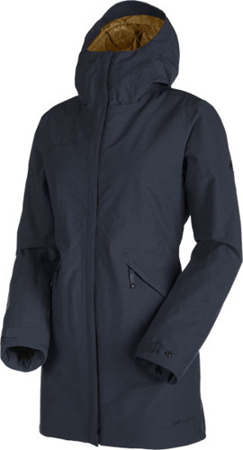 Kurtka Mammut Chamuera HS Thermo Hooded Women marine
