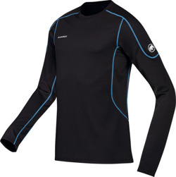 Mammut Longsleeve Go Warm Men black-cyan